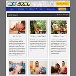 Boy Gusher Member Sign Up