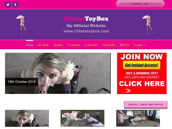 Free Watch Chloes Toy Box