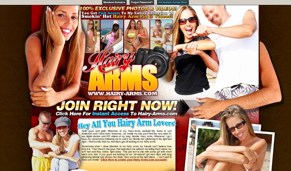 Hairy Arms Discount Free Offer
