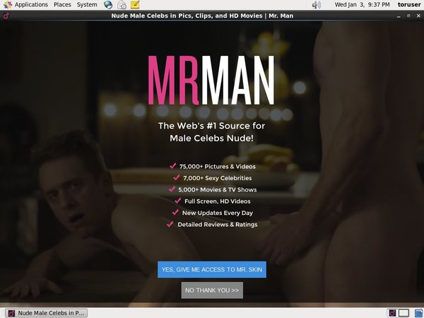 Mrman.com Sign Up