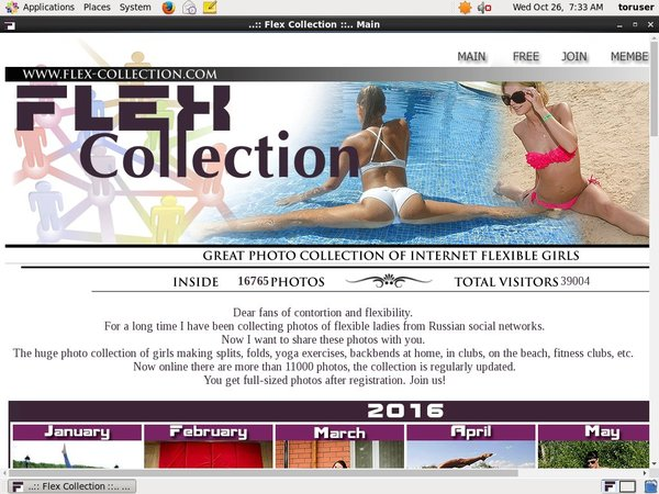 Flex Collection Join Now