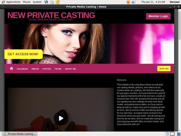 Premium New Private Casting Accounts Free