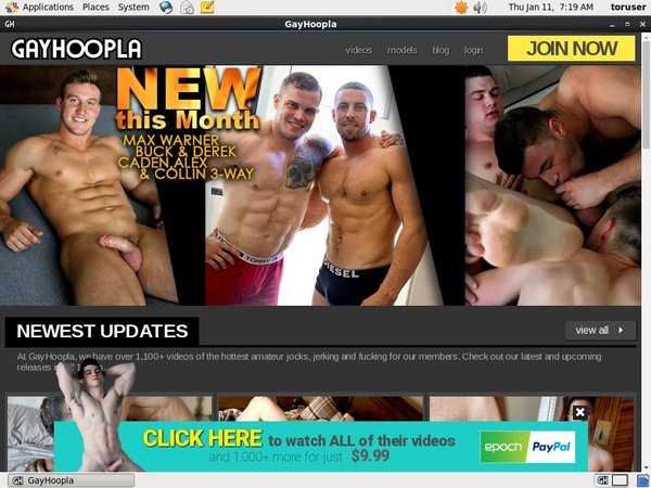 Gayhoopla.com With EUDebit