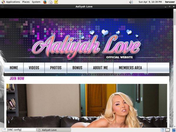 Aaliyah Love Paypal Signup