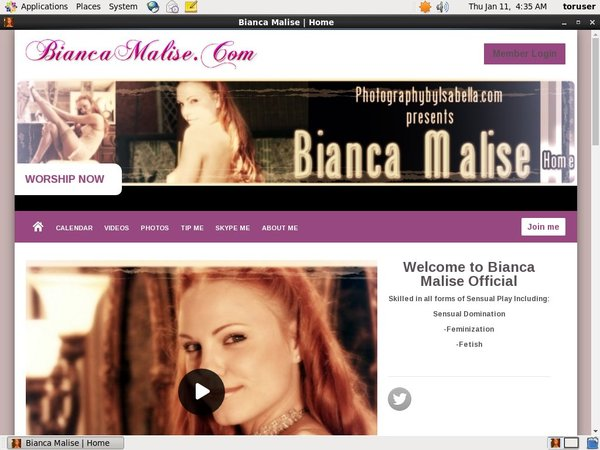 Bianca Malise Check Out