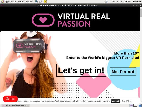 Joining Virtual Real Passion